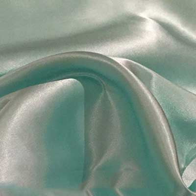 Mint Green Charmeuse Satin