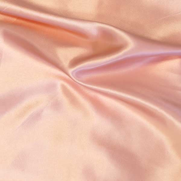 Blush Charmeuse Satin Fabric by the Yard
