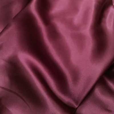 Plum Charmeuse Satin
