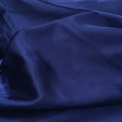 Royal Blue Charmeuse Satin