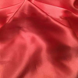 Coral Charmeuse Satin