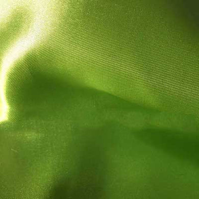Lime Green Bridal Satin