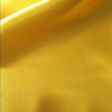 Yellow Bridal Satin