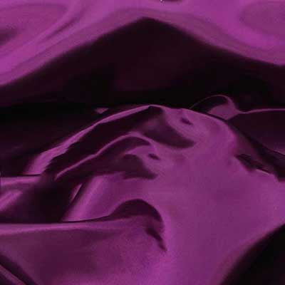 Plum Bridal Satin