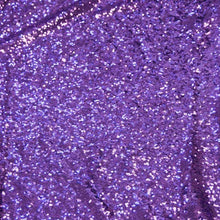 Purple Mini Glitz Sequin Fabric - 1/2 yd