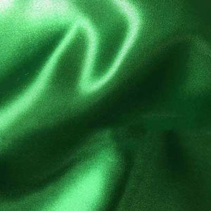 Kelly Green Bridal Satin