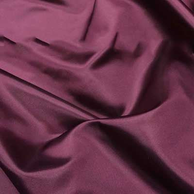 Burgundy Bridal Satiin