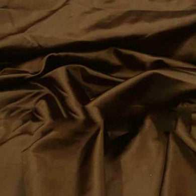 Brown Bridal Satin