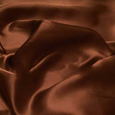 Mocha Charmeuse Satin