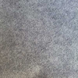 "Heather Gray 72"" Felt"