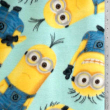 Despicable Me - Minion Baby Blue Fleece Fabric