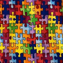 Autism Awareness Multi-color Fleece