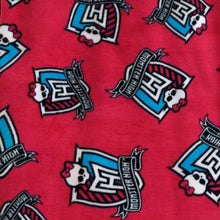 Monster High Fuschia Fleece
