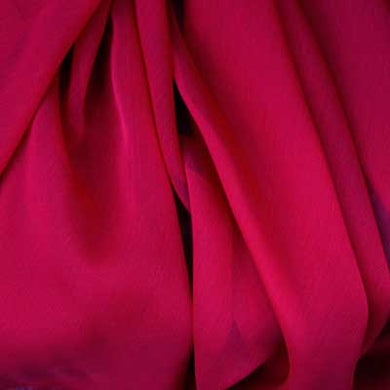 Wine Red Chiffon
