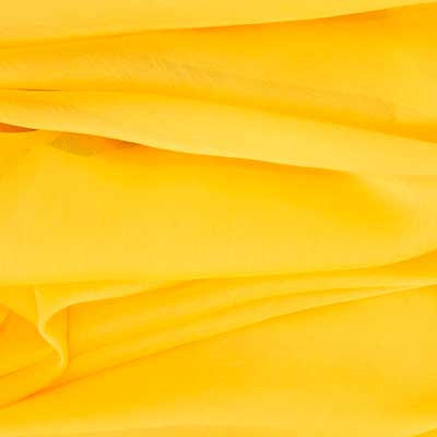 Cannary Yellow Chiffon