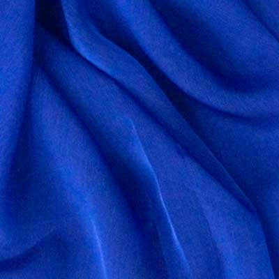 Royal Blue Chiffon