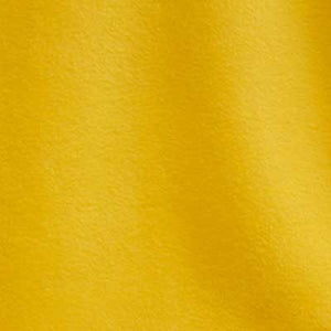 Golden Yellow Solid Fleece