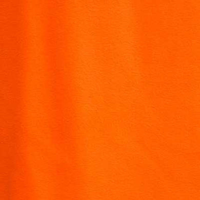Bright Orange Solid Fleece