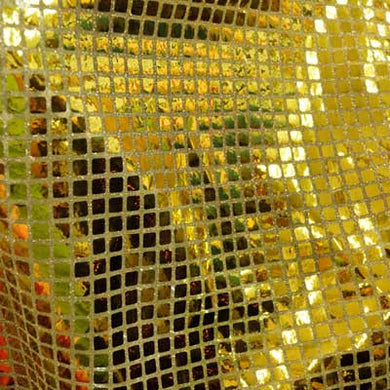 Gold Square Sequins