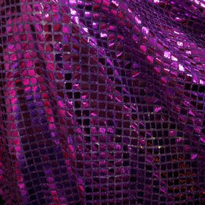 Purple Square Sequins