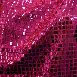 Fuschia Square Sequins