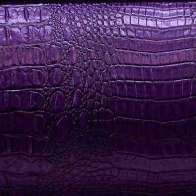 Purple Alligator/Crocodile Vinyl