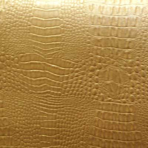 Gold Alligator/Crocodile Vinyl