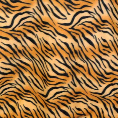 Tiger Striped Fleece