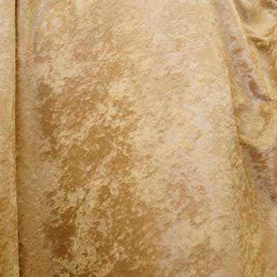 Beige Crushed Panne Velvet Fabric