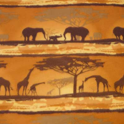 African Safari Fleece