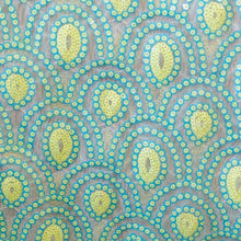 Pastel Peacock Mini Glitz Sequin Fabric