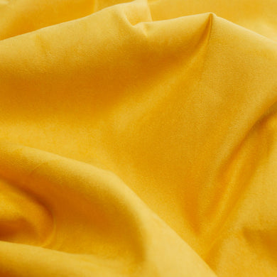 Canary Yellow Faux Suede Fabric