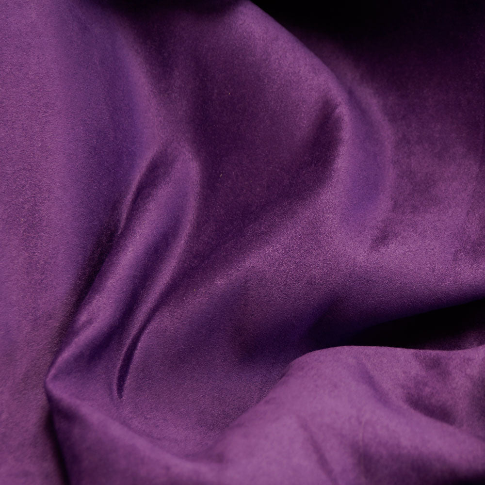 Purple Faux Suede Fabric