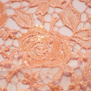 Blush Rose Lace Fabric