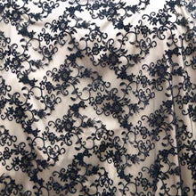 Black Taylor 100% Rayon Lace Fabric