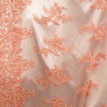 Blush Dianna Flower Lace Fabric