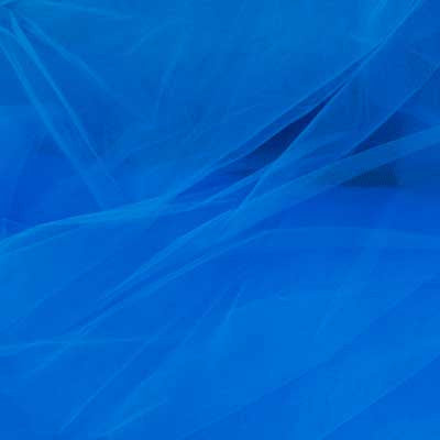 Decorative Blue Tulle Assorted - 40 yds