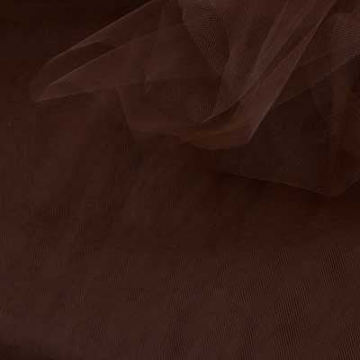 Decorative Brown Tulle Assorted - 40 yds