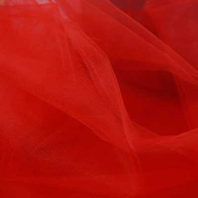 Decorative Red Tulle Assorted - 40 yds