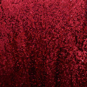 Burgundy Mini Glitz Sequin Fabric - 1/2 yd