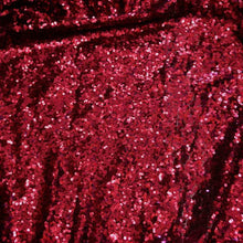 Burgundy Mini Glitz Sequin Fabric by the Yard
