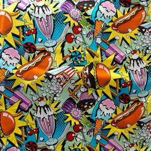Snack Food Blast - Alexander Henry Collection 100% Cotton