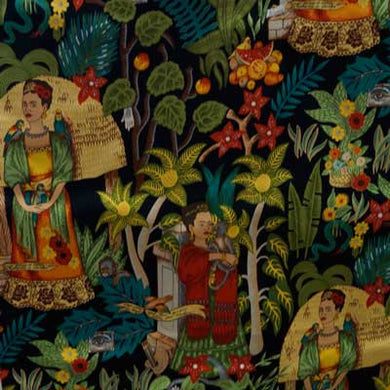 Frida Khalo - Alexander Henry Collection 100% Cotton