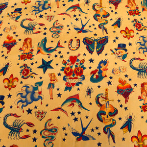 Traditional Sailor Prints - Alexander Henry Collection 100% Cotton Fabric