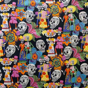 Dia de Los Muertos - Alexander Henry Collection 100% Cotton
