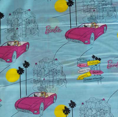 Barbie Dream Car & House 100% Cotton