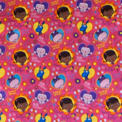 Disney's Doc Mcstuffins 100% Cotton
