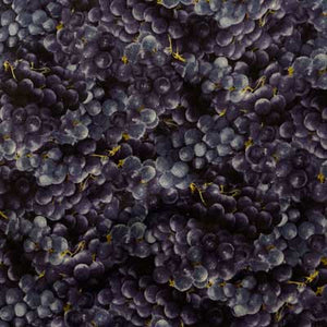 Concord Grapes Collage 100% Cotton