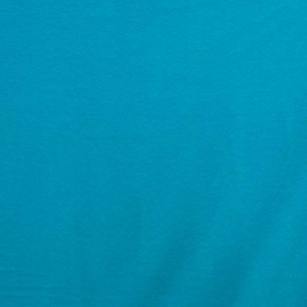 Sky Blue Solid Fleece Fabric