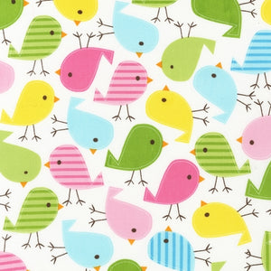 Slicker - Kona Laminated Cotton Fabric/Birdie